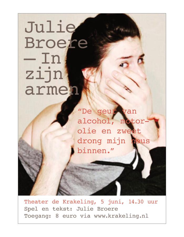Julie Broere – In zijn armen