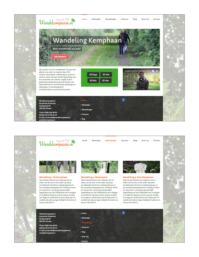 Website wandelcompassie